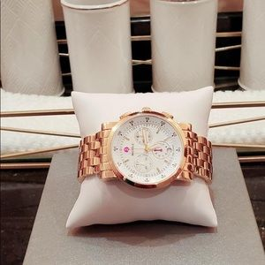 Gold Michele Watch
